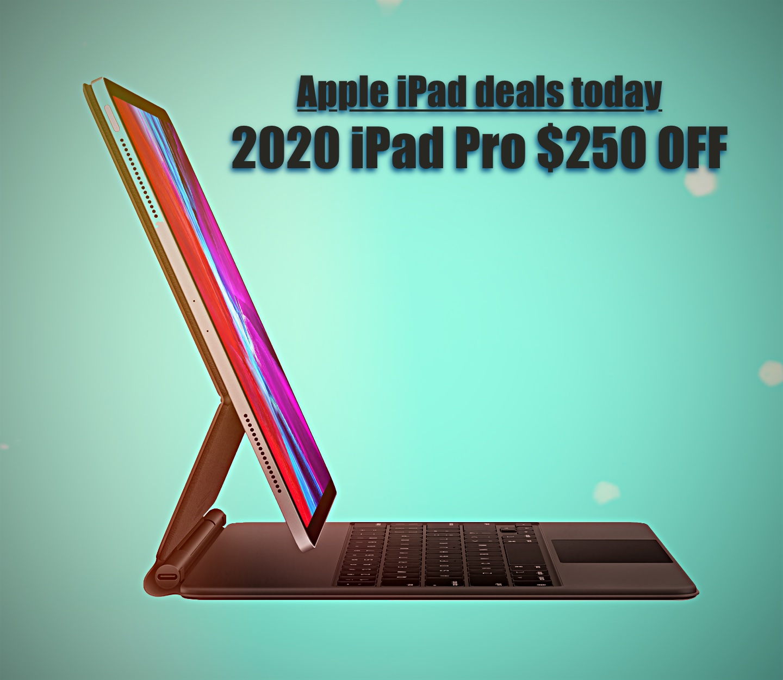 Apple iPad deals,Apple iPad deals today,2020 iPad Pro $250 off,ipad,iPad deals,iPad Pro deals,iPad Air deals,Versatile 2020 iPad Pro $250 off!