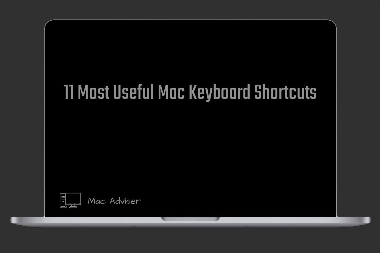 most useful Mac keyboard shortcuts