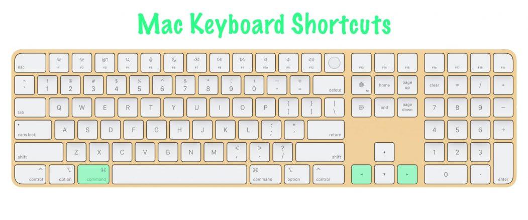 11 most useful Mac keyboard shortcuts   Forward / Backwards in Safari   Command-left/right arrows