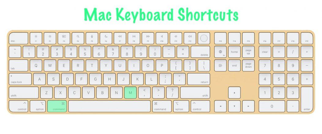 11 most useful Mac keyboard shortcuts   Minimize Active Window   Command + M