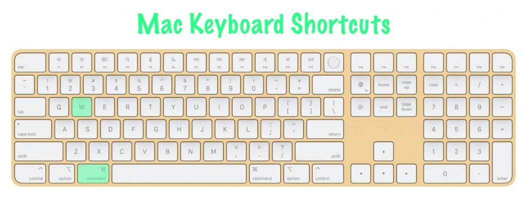 11 most useful Mac keyboard shortcuts   Close Active Window   Command+W