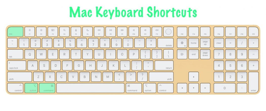 11 most useful Mac keyboard shortcuts   Force Quit Application   Option + Command + Esc