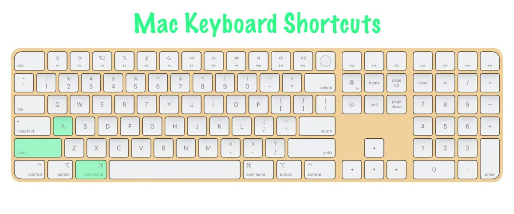 11 most useful Mac keyboard shortcuts   Open Applications folder   Command+Shift+A