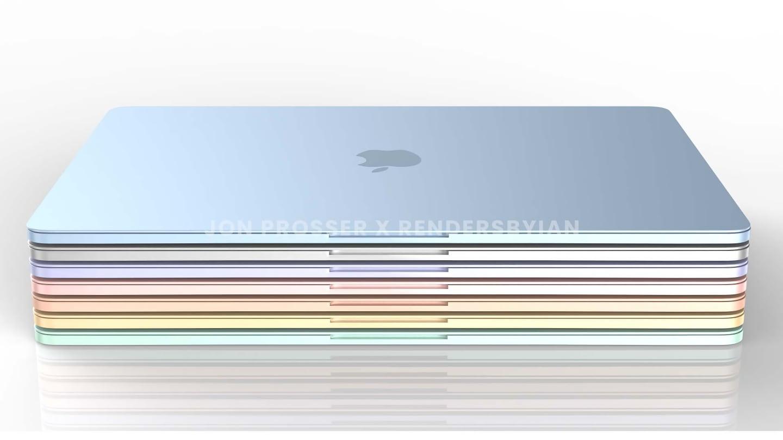 apple macbook air m2,MacBook Air M2,MacBook Air M2 Leak