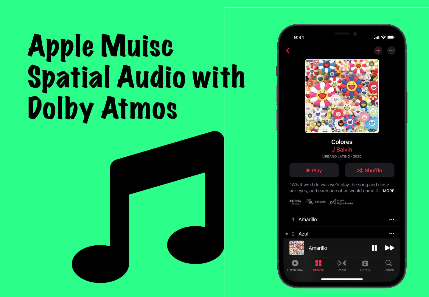 Apple Music Spatial Audio and Lossless Audio
