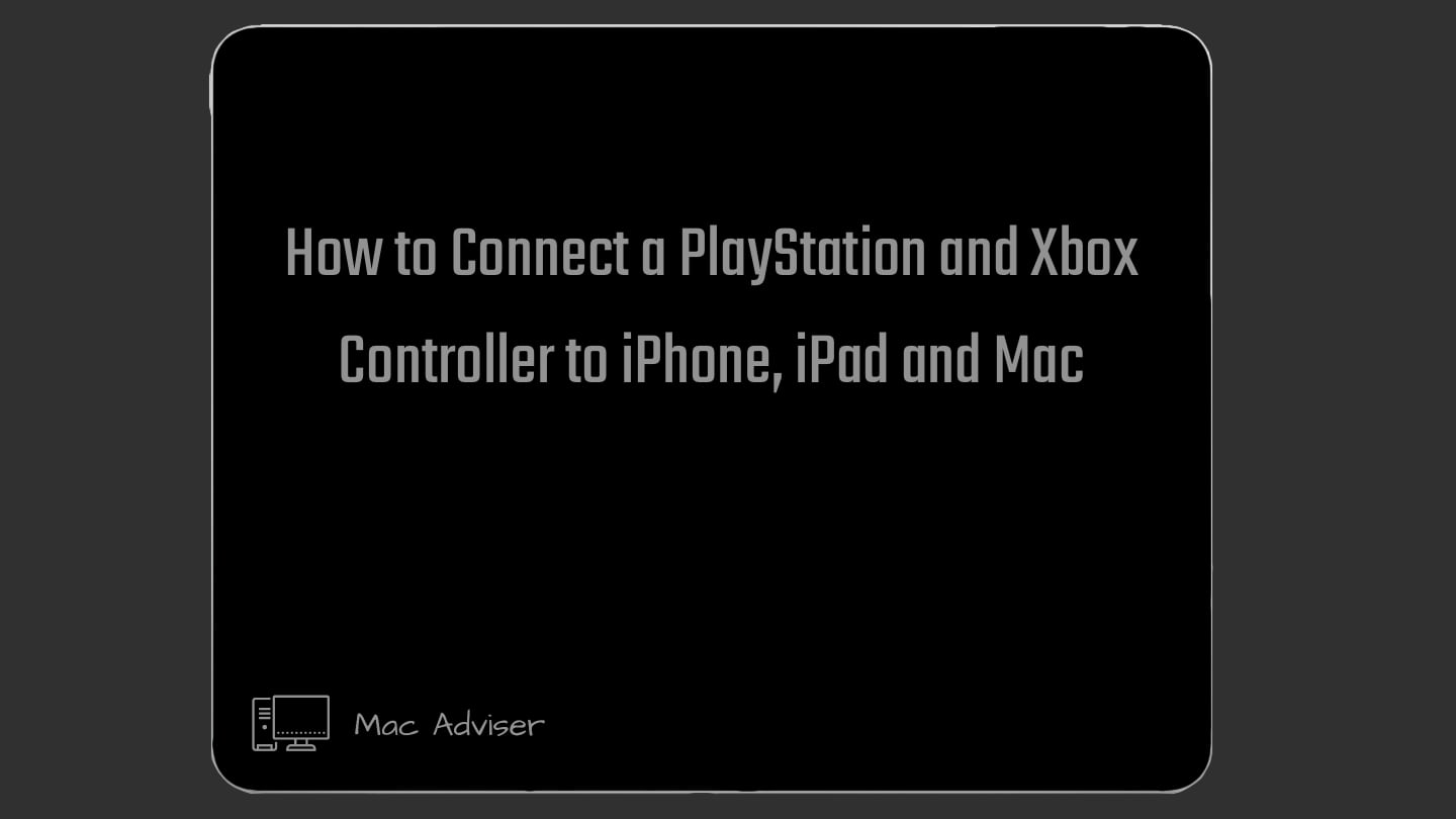 how to connect ps4 controller to iPhone How to connect xbox Controller to iPhone