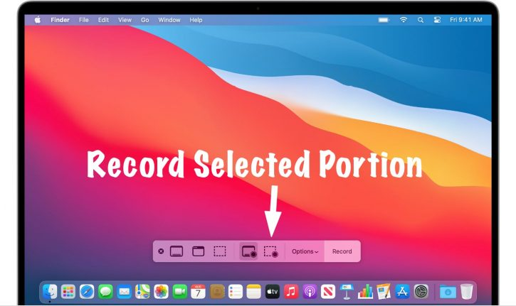 Screen Record on Mac with Audio