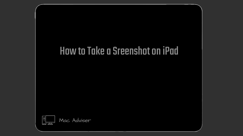 How to Take a Screenshot on iPad / iPad screenshot /