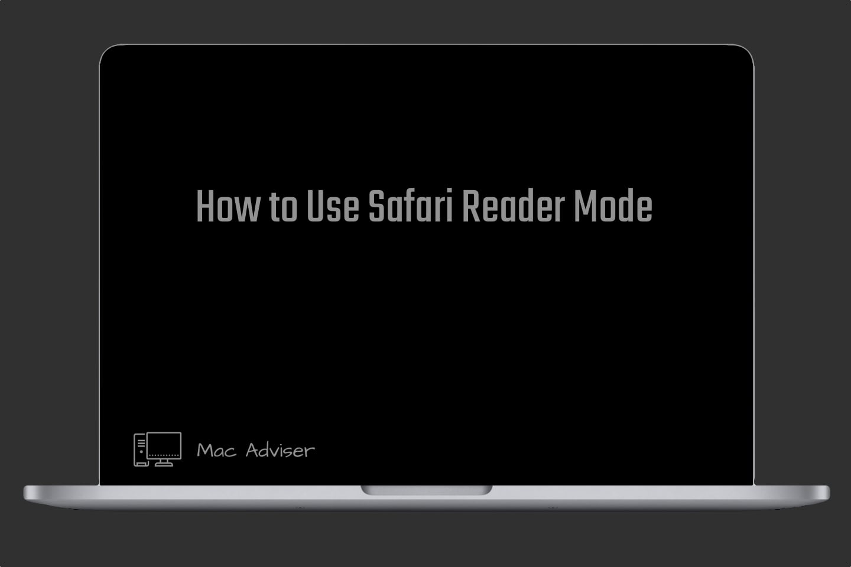 How to Use Safari Reader Mode