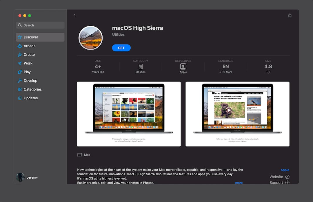 How to download macOS installers for Big Sur and older